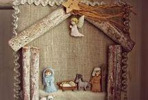 Presepi / Presepi, Nativita` e Madonna con Bambino di feltro e di altri materiali