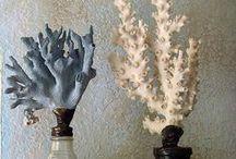 Decorare con conchiglie, coralli, stelle marine,... / decorazioni con elementi marini, idee e tutorial