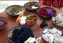 Natural dyes / Tingere con vegetali o minerali