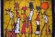 Africa art / by Dee