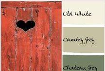 Colori e combinazioni / Accostamenti di colori