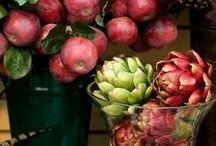Decorare con frutti e fiori / decorazioni con elementi vegetali, idee e tutorial