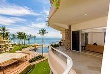 Quinta Del Mar / Quinta del Mar is a beautiful condominium complex, located on the stunning Bahia de Banderas and the exclusive Nuevo Vallarta. All of our exclusive condos face directly onto the ocean and have stunning views of the coastline.
