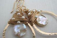 Bijoux - Orecchini e Anelli (di ogni materiale) / Orecchini ed anelli di materiali vari