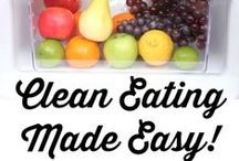 Clean Eating Recipes & Meal Plans / This board will help you get an idea of what Clean Eating is, and how you can get started with a Clean Eating Diet. Includes Breakfast, Dinner, and Lunch Recipes, as well as resources that will help you develop clean eating meal plans.