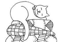 Disegni sagome e schemi 2 (animali) / disegni sagome e schemi con soggetto animali