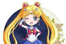Sailor Moon / My drawings of Sailor Moon characters :)
