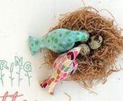 CUCITO CREATIVO idee e ispirazioni / Idee per creare con tessuti colorati e divertenti