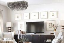 Home Decor Inspiration / Decorating inspiration, home decor, wall art, gallery walls, kitchen decor, bathroom decor, bedroom decor, living room decor