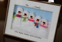 Holiday crafts & ideas / by Carolyn Tecca