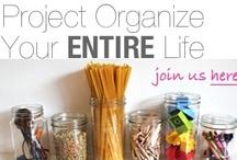 Get Organized / by Carolyn Tecca