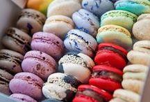 Macarons! / french macarons, sweets