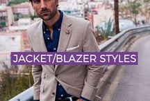 MEN'S JACKET/BLAZER/SPORTS COAT STYLES 2018 / Jacket and Blazer Style inspiration for your orders at www.exclusivetailor.com