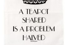 A teapot shared is a problem halved