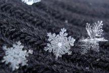 Snowflakes / snow, snowflakes, winter, inspiration
