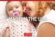 Made in the USA / NUK is proud to make all of these awesome products here in the USA!  / by NUK USA