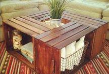 DIY Furniture Ideas / by Carolyn Tecca