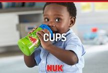 Cups / NUK® and Gerber® Graduates® help your child drink independently.