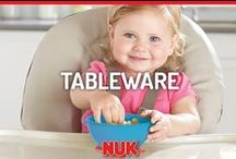 Tableware / NUK® and Gerber® Graduates® help your child eat independently and mess free.
