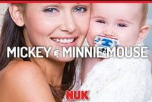 Mickey Mouse & Minnie Mouse / by NUK USA