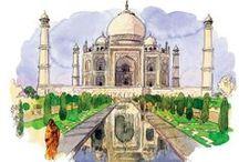 India + Nepal + Sri Lanka / by Caro_frenchy