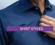 MEN'S SHIRT STYLES 2018 / Shirt styles and fashion inspiration for your next order at www.exclusivetailor.com