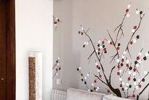 Murales / Pinturas hechas a mano sobre paredes con técnicas y diseños variados de acuerdo al ambiente y gusto del cliente.