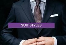MEN'S SUIT STYLES 2018 / Fashion and Style inspiration for your next order at www.exclusivetailor.com