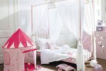 Girls Bedroom | Maisons du Monde / Inspiration for your little girl's bedroom of dreams...