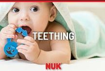 Tackle Teething / For all of those fussy, teething moments, NUK® is here to help!
