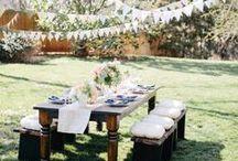 English Garden Party | Maisons du Monde / Start planning the best summer parties now...