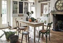 Country House | Maisons du Monde / Making a cottage a home...