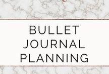 Bullet Journal Planning / Inspiration for journaling.