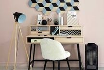 Workspaces | Maisons du Monde / Work hard. Play hard. What better place to make sure this happens than a dreamy workspace. From desk inspiration to office ideas, brighten up your everyday world.  Shop more inspiration here: http://www.maisonsdumonde.com/UK/en/category/office-spaces-nc1e283ad76869b945fc7fde8860ef142d52f9ea.htm