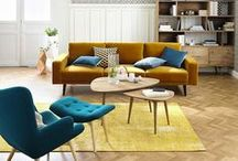 Jewel Tones Interiors | Maisons du Monde / Lift the spirits in your home with jewel like interiors. From plush fabrics to rich hues, there is something to add some warmth and radiance to any room.