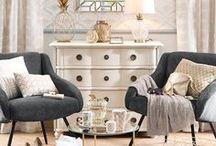 Elegance | Maisons du Monde / Go on, spoil yourself! Add a touch of charm to your interiors with golden glamour and fancy things.
