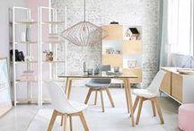 Scandi style   Maisons du Monde / Minimalist style and simplicity.