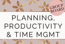 Planning, Productivity & Time Management / A board to share blog posts and pins on Planning, Productivity, and Time management! Guidelines > Posts about other topics will be deleted. Please pin quality content, vertical, clear & crisp photos, and ratio 1:1 (repin 1 for every pin added). To be added: FOLLOW all of my boards, then send me a message on Facebook (https://www.facebook.com/planwithdebbie) with your Pinterest profile and email associated with Pinterest.
