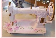 Sewing Machines and Studios / Eye candy!  Sewing machines, tables, and studios! / by Sew-Whats-New.com