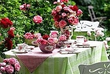*•✿Outdoor Dining / by colorko