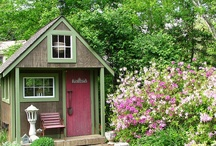 *•✿Garden Sheds / by colorko