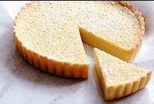 Lemon Cakes, Tarts, & Biscuits