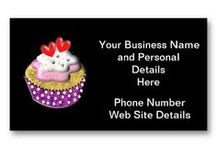 Business Cards - Flissitations - My Designs / Whether your a big corporation or an individual  take a look at these unique design templates for your business cards your bound to find one to suit your business.   They are really easy to personalize with your details at no extra cost and the more you buy the cheaper they get. Visit my store for further details http://www.zazzle.com/flissitations*/gifts?cg=196322241949087611 / by Flissitations