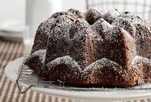 Bundt Cakes / Ideas and recipes for Bundt tins