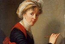 Élisabeth Louise Vigée-LeBrun / Marie-Louise-Élisabeth Vigée-Lebrun), one of the most successful of all women artists, particularly noted for her portraits of women.