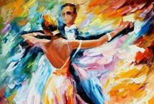 """Waltz! / This """"mother of all dances"""" originated in Italy in the 1600s as a round dance called the Volte. It arrived in America in the early 1800s and was the first social dance in which a woman was actually held in a man's arms. Learning to Waltz is elegant. The Waltz develops graceful movement and poise. Every wedding reception, black-tie formal and holiday party includes Waltz steps."""