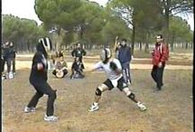 "Juego Todo (Submission Game) / TODO means ""freestyle"" or ""anything goes"". In this form of juego (game) opponents: (1) wear protective equipment; (2) may use strikes, kicks, throws, locks, and holds as well as their weapon; (3) may use any combination of weapons agreed by their opponent; and (4) fight until submission - where one opponent gives up, is unable to continue, or time is called. Historically, Juego Todo fights were referred to as ""death matches""."
