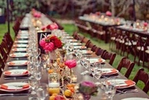 Gather / Tablescapes and Entertainment Ideas / by Rebecca Vogel Pitts