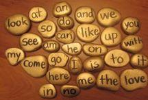 Kids + Letters + Words / Language arts