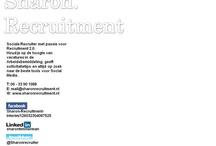 About Me / Op zoek naar werk binnen de Arbeidsbemiddeling? Kijk snel naar de actuele vacatures op http://sharonrecruitment.jobscore.com/list